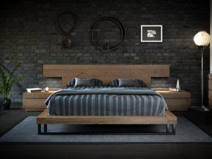 Κρεβάτι '' Natural ''